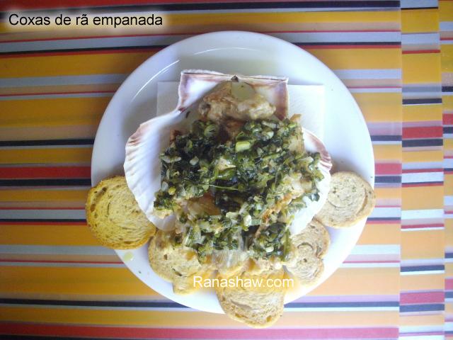Coxas de r�s empanadas